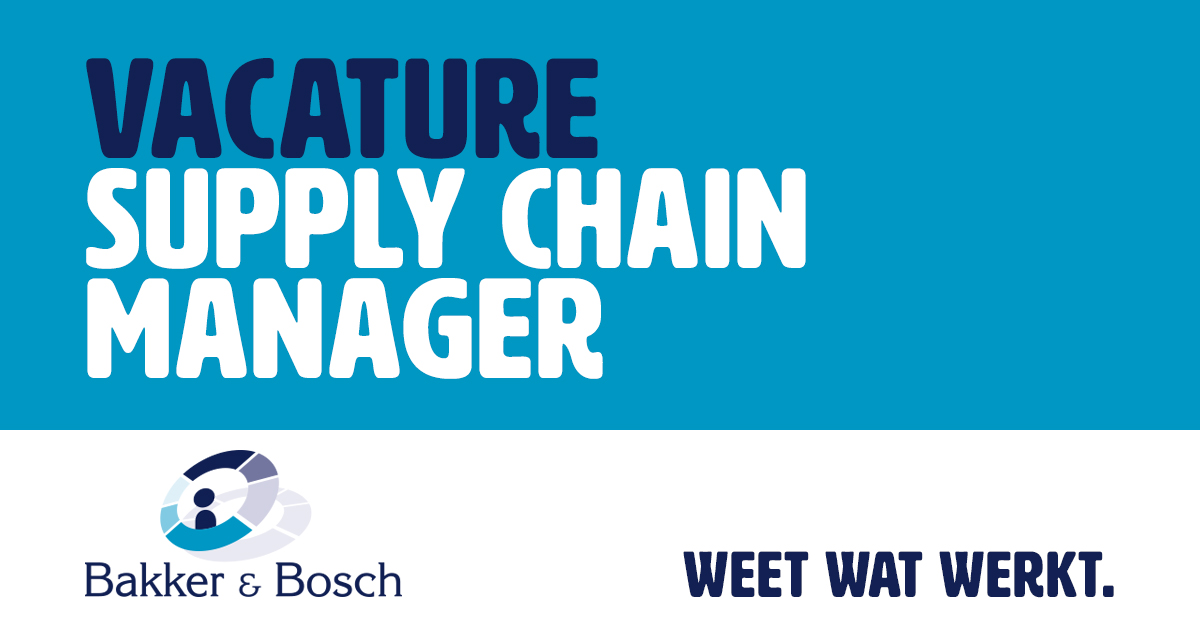 Vacature Supply Chain Manager